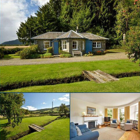 2 bedroom detached house for sale - West Lodge, Castle Menzies, Aberfeldy, Perthshire, PH15