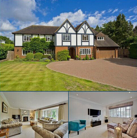 5 bedroom detached house for sale - Silverdale Avenue, Ashley Park, Walton-on-Thames, Surrey, KT12