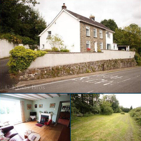 5 bedroom property with land for sale - Bronwydd, Nr Carmarthen