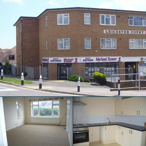 Studio to rent - Leicester Court, Longridge Avenue, Saltdean, Brighton BN2