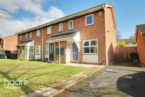 2 bedroom end of terrace house for sale - Griffin Gardens, Harborne, Birmingham