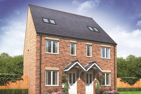 3 bedroom terraced house for sale - Plot 228, The Bickleigh at Kings Gate, Hathern Road, Shepshed LE12