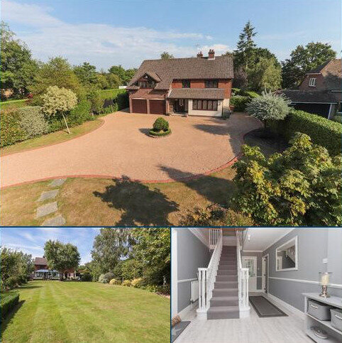 4 bedroom detached house for sale - Substantial Detached Family House with Planning Permission for additional Detached Residence