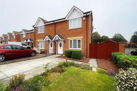 3 bedroom semi-detached house for sale - Camberley Road, Howdon, Wallsend, NE28