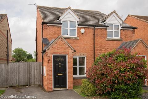 2 bedroom semi-detached house to rent - Elizabeth Close, Gunness/keadby/crowle