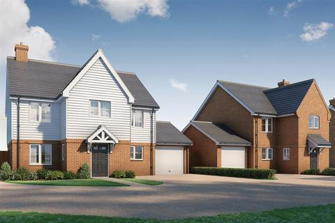 4 bedroom detached house for sale - The Bromstone, Fitzwarin Place, Singledge Lane, Whitfield, Dover, Kent