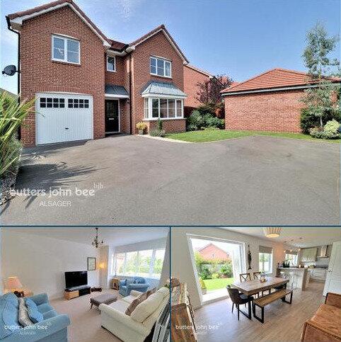 4 bedroom detached house for sale - Reginald Lindop Drive, Stoke-On-Trent