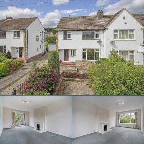 3 bedroom semi-detached house for sale - Hall Drive, Burley in Wharfedale