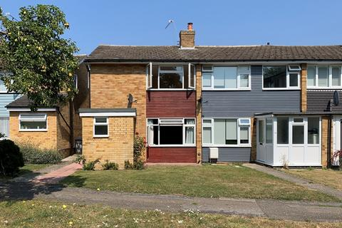 3 bedroom end of terrace house for sale - Lucksfield Way, Great Baddow, Chelmsford, CM2