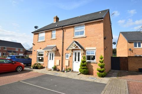 2 bedroom semi-detached house for sale - 18 Llys Y Dderwen, Parc Derwen, Coity, Bridgend CF35 6DE