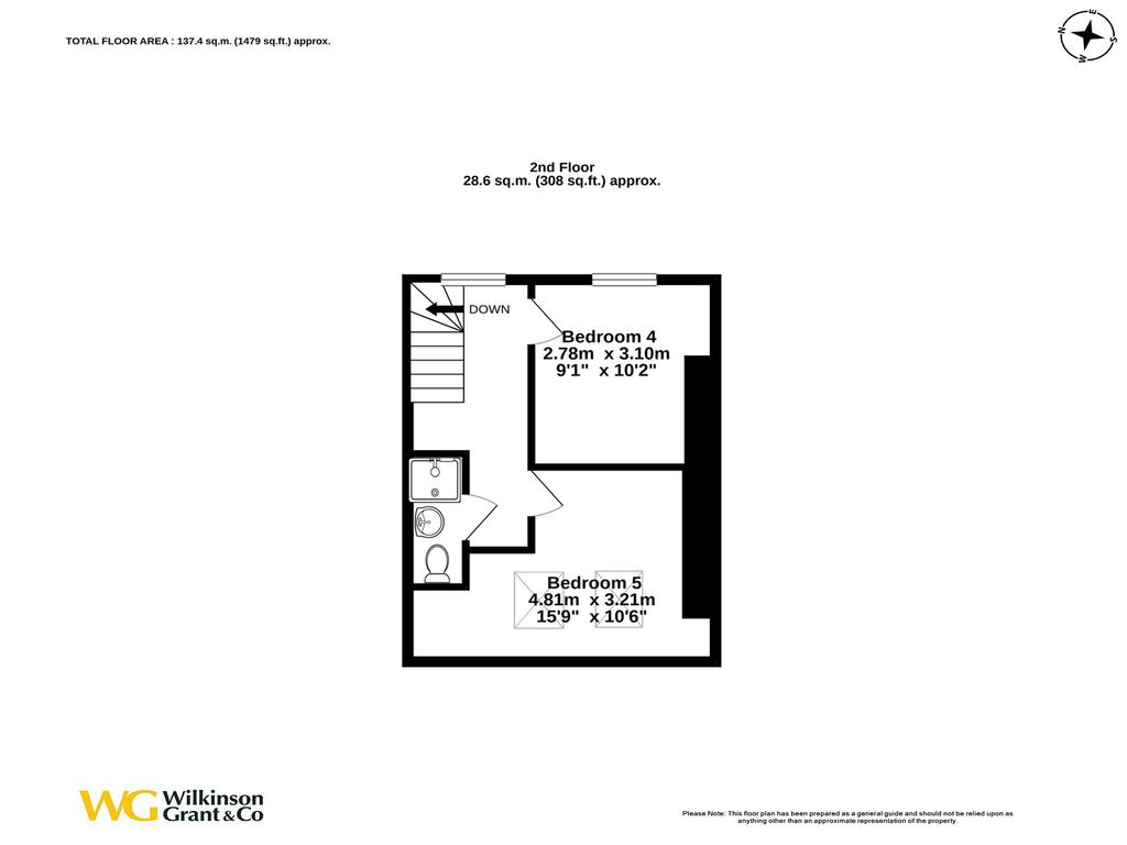 Floorplan 3 of 3: Second Floor