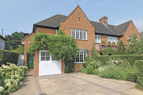 4 bedroom semi-detached house for sale - Hill Rise, Hampstead Garden Suburb