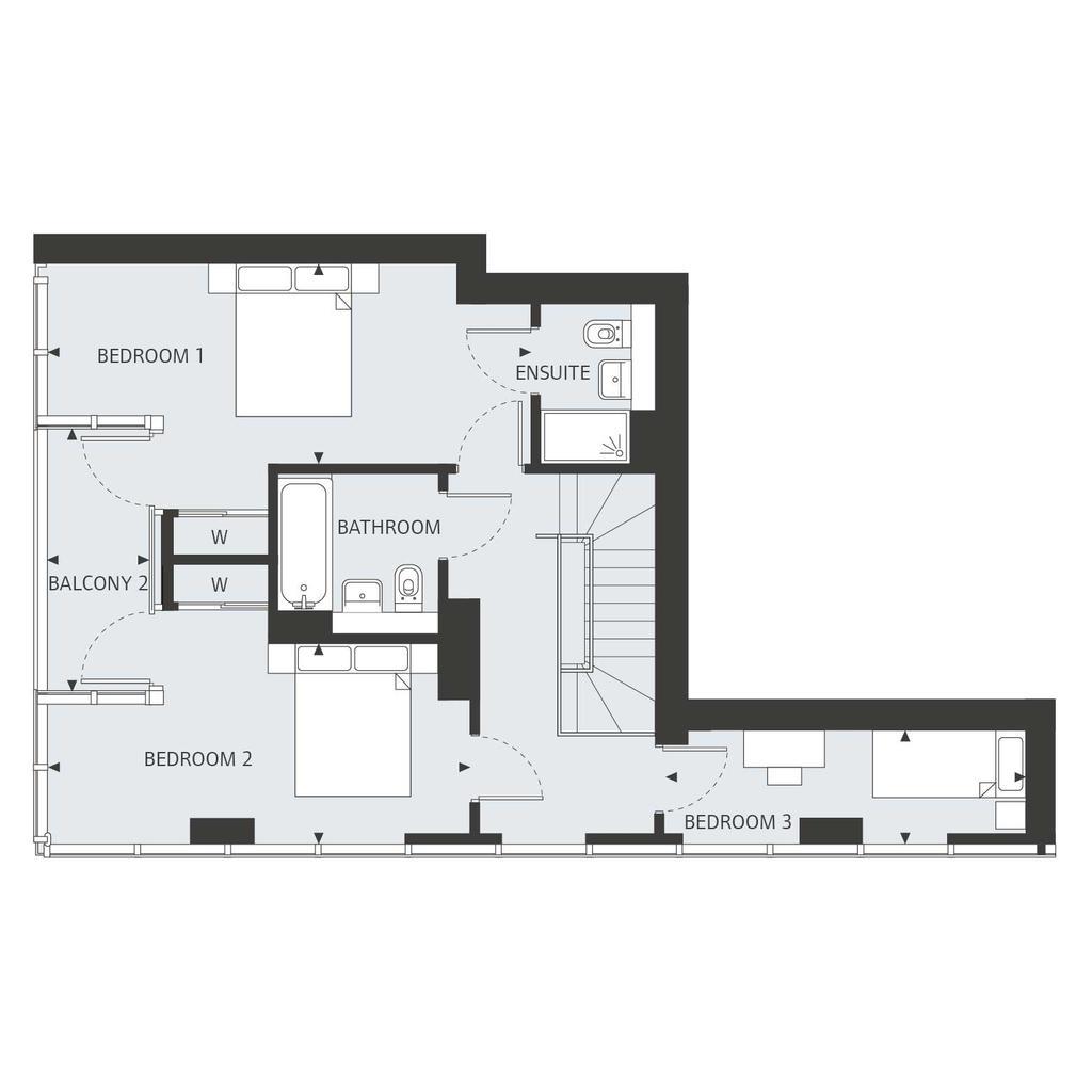 Floorplan 2 of 2: Seventeenth Floor