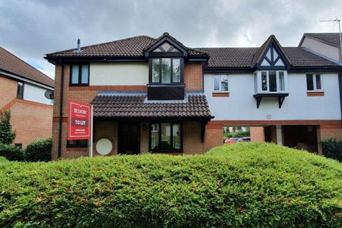 1 bedroom end of terrace house to rent - Lynmouth Crescent, Furzton, Milton Keynes, MK4