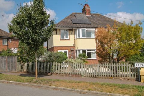3 bedroom semi-detached house for sale - St Peters Road, Stowmarket, IP14