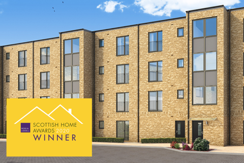 1 bedroom apartment - Plot 124, The Almond at Broomview, Edinburgh, Broomhouse Road, Edinburgh EH11
