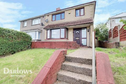 3 bedroom semi-detached house for sale - Attlee Close, Tredegar