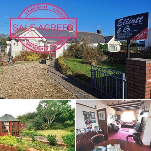 2 bedroom semi-detached bungalow for sale - HIGH STREET, KENFIG HILL,  BRIDGEND CF33