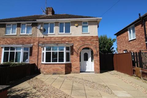 3 bedroom semi-detached house to rent - Hall Avenue, Rushden,Northants, NN10 9EU