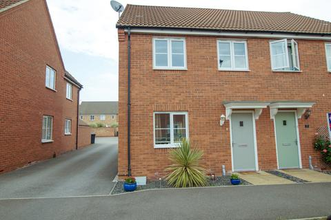 3 bedroom semi-detached house - Bluebell Walk, Witham St. Hughs