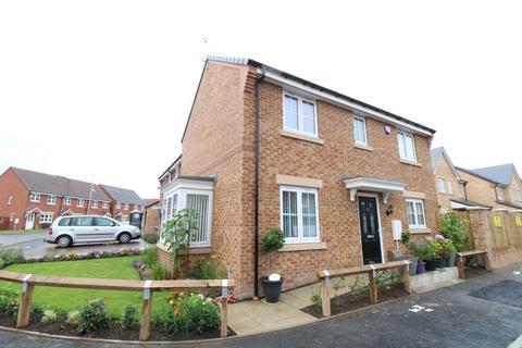 3 bedroom detached house for sale - Brandling Way, Shoreland Park, Hadston, Morpeth, Northumberland