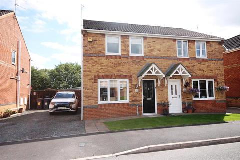 3 bedroom semi-detached house for sale - Dickens Way, Crook