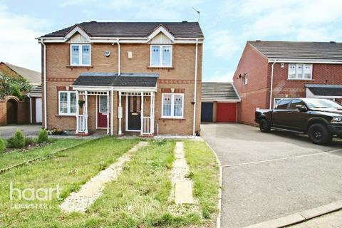 2 bedroom semi-detached house for sale - Gavin Close, Leicester