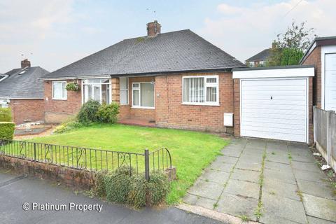 2 bedroom semi-detached bungalow - Coupe Drive, Weston Coyney, ST3 5HS