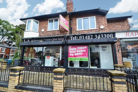 Retail property (high street) to rent - Chanterlands Avenue, Hull