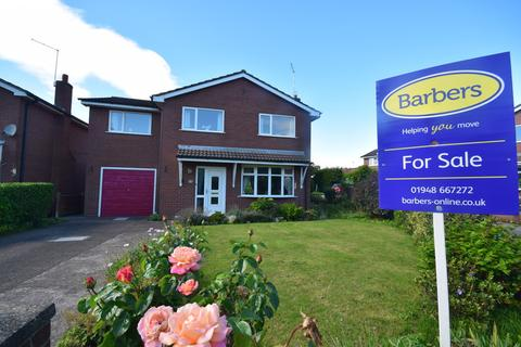 4 bedroom detached house for sale - Anchor Close, Whitchurch