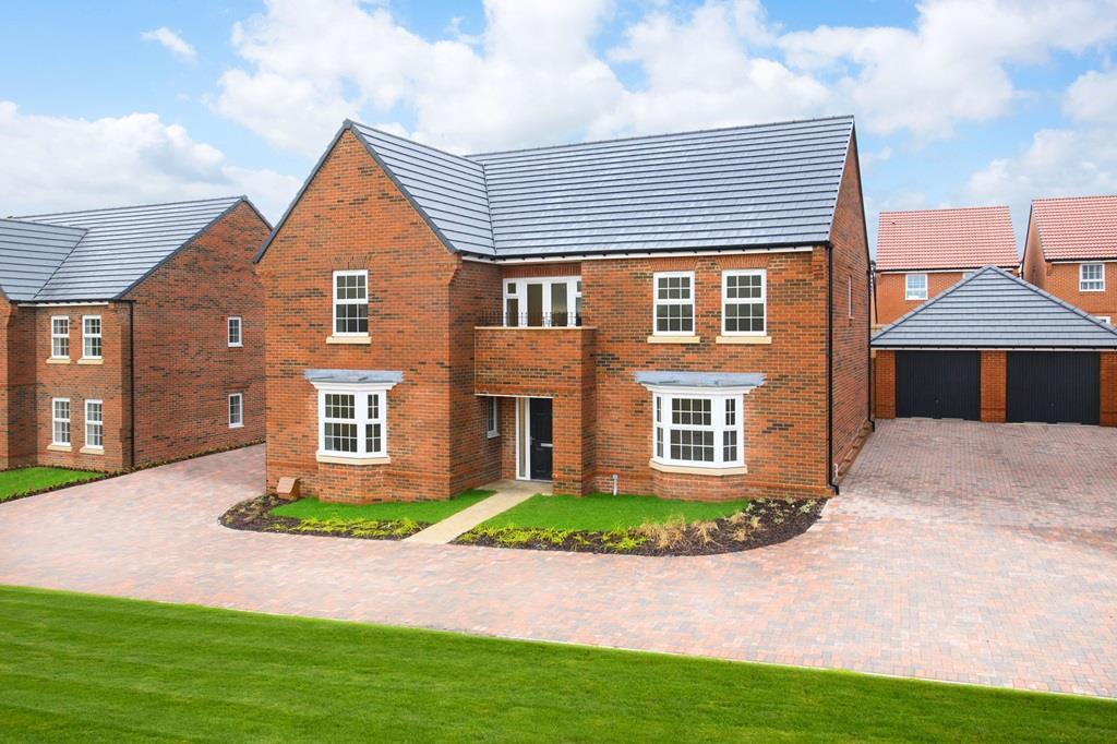 Outside view 5 bedroom Kemble home