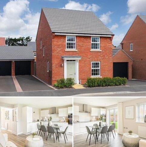 4 bedroom detached house for sale - Plot 103, Ingleby at David Wilson Homes at Kibworth, Fleckney Road, Kibworth, LEICESTER LE8
