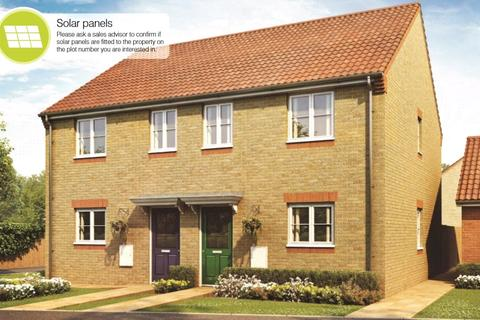 3 bedroom semi-detached house for sale - The Ashton, Whittlesey Green, Eastrea Road, Peterborough, PE7