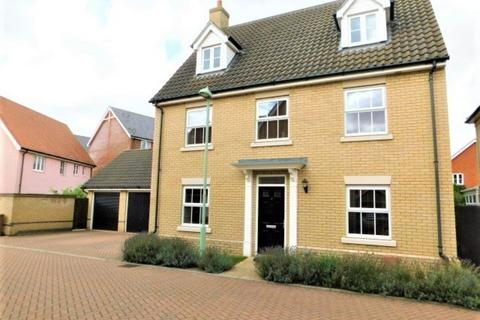 5 bedroom detached house for sale - Greenfinch Close, Stowmarket