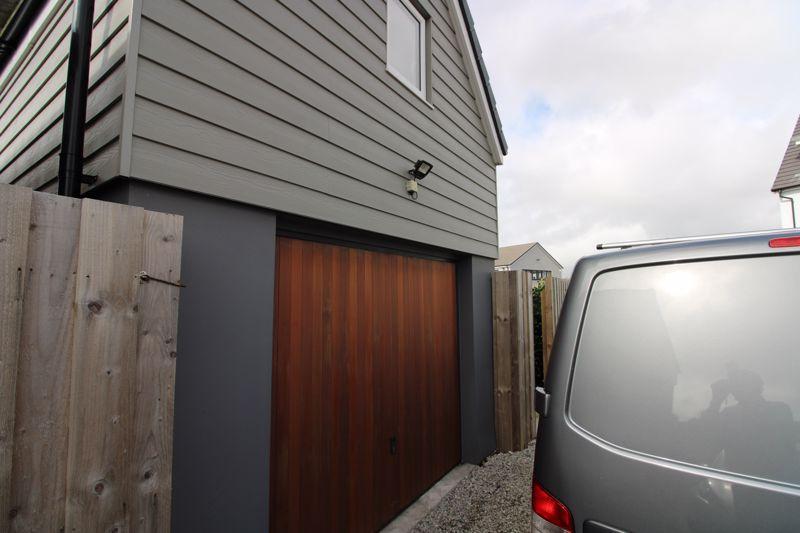 Garage with loft...