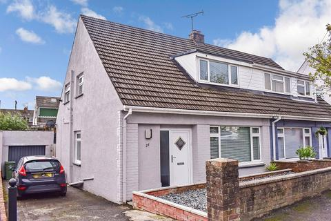 3 bedroom semi-detached bungalow for sale - Graham Avenue, Pen-y-fai, Bridgend . CF31 4NR
