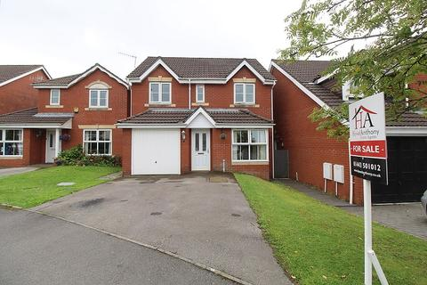 4 bedroom detached house for sale - Powell Drive, Llanharan, Pontyclun, Rhondda, Cynon, Taff. CF72 9UU