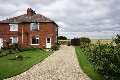 2 bedroom semi-detached house for sale - North Drove, Martin Dales, Woodhall Spa