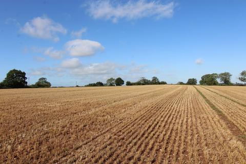 Farm land for sale - 9.14 acres (3.696 ha) of Arable/Pasture Land off Leigh Road, Bramshall, Uttoxeter, Staffordshire