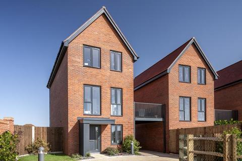 3 bedroom detached house for sale - Plot 80, Bay at Barratt Homes at Chilmington, Hedgers Way, Kingsnorth, ASHFORD TN23