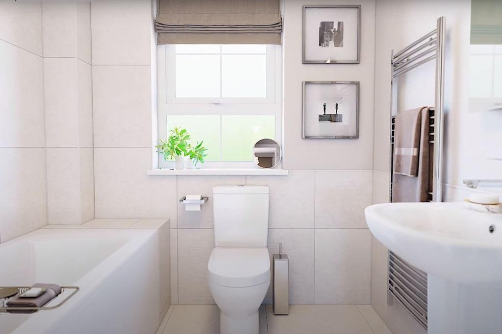 Palmerston Bathroom CGI
