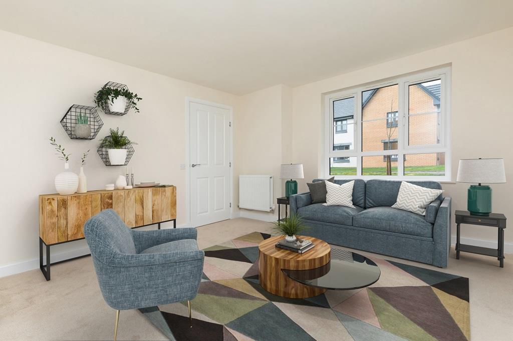 Craigend, living room