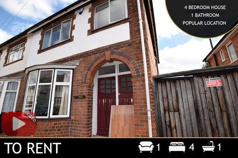 4 bedroom terraced house to rent - Greenhill Road, Leicester, LE2