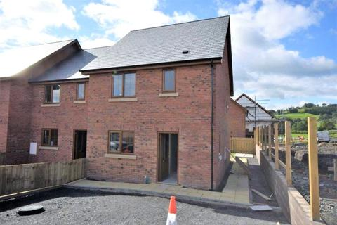 3 bedroom end of terrace house for sale - Plas Trannon, Trefeglwys, Caersws, Powys, SY17