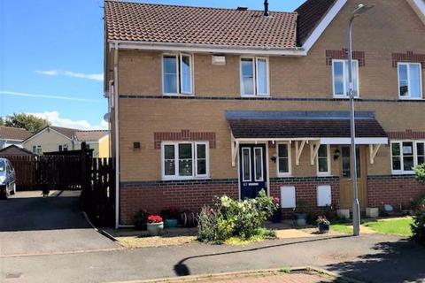 3 bedroom semi-detached house for sale - Llanmead Gardens, Rhoose, Barry