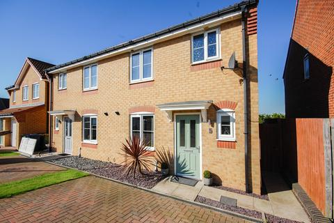 3 bedroom semi-detached house for sale - Edgehill Gardens, Brotton, TS12