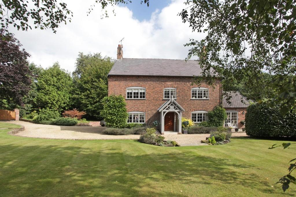 5 Bedrooms Detached House for sale in Oulton Mill House, Near Tarporley