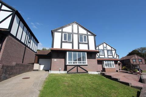 4 bedroom detached house for sale - Usk Way, Barry