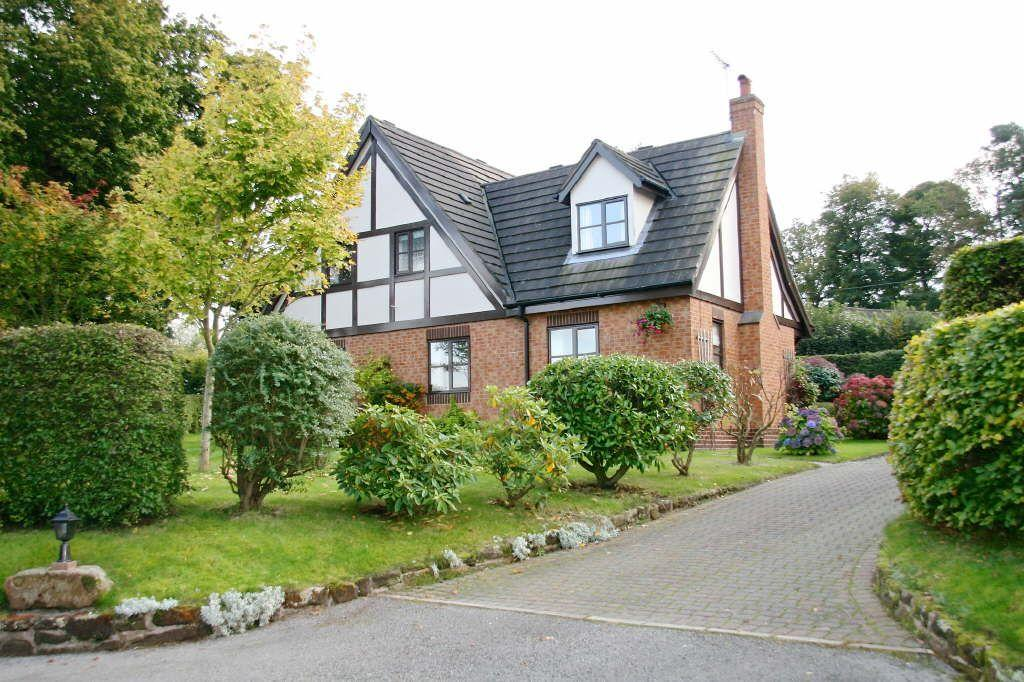 4 Bedrooms Detached House for sale in High Cross Lane, Clutton, Cheshire