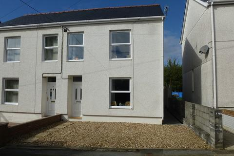 3 bedroom semi-detached house for sale - Coronation Road, Upper Brynamman, Ammanford, Carmarthenshire.